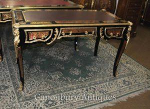 Буль Письменный стол Письменный стол Буль инкрустация французское бюро Plat
