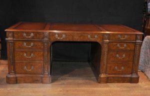 Георг II Орех Партнеры Стол Письменный стол Мебель Столы