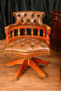 Кожаный стол кресло вращающееся Капитаны ванна Офисная мебель Сиденье