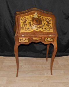 Людовик XV бюро De Dame стол Письменный стол Inlay
