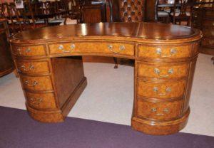 Ореховый Regency Почки Стол Письменный стол Мебель