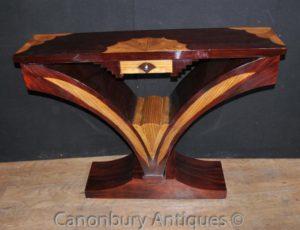 Таблица Консоль Art Deco гребешка инкрустация Мебель