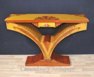 Таблица Art Deco Модернистская Console 1920-х годов Мебель Столы
