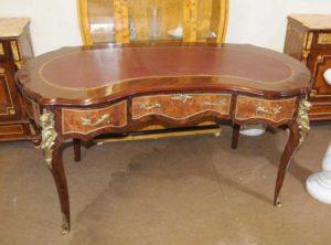 Французская Фасоль стол Людовика XV Письменный Стол Бюро Plat