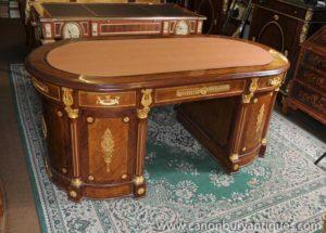 Французская империя Партнеры стол Бюро Письменные столы Письменные столы Пьедестал