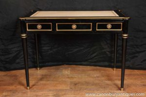 Regency лаковой стол Письменный стол Бюро Plat
