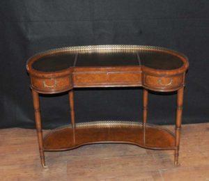 Regency Walnut Почки Стол Письменный стол мебель для бюро