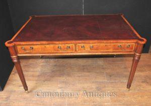 Sheraton Стол в Walnut Письменный стол английской мебели