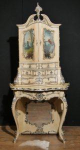 Античный флорентийский итальянский кабинет бюро 1860