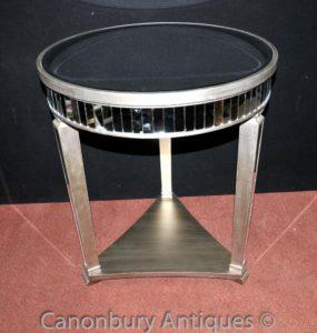 Журнальные столы с зеркальными столами в стиле Big Art Deco