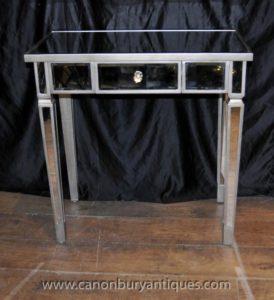 Зеркальный стол с декором стола Art Deco Зеркальная мебель