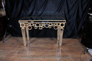 RUSSIAN Столы для журналов в стиле арт-деко Зеркальный стол для столов в зале Borghese Furniture