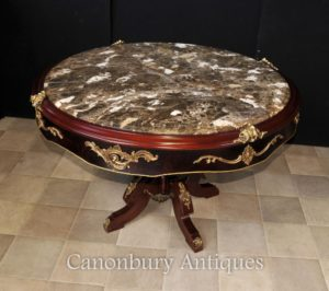 Французский центр стола Louis XVI Center Marble Topped