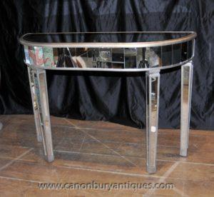Декоративная зеркальная мебель в стиле ар-деко