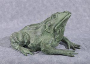 Французская бронзовая лягушка Фонтан Жаба Сад Скульптура Статуя