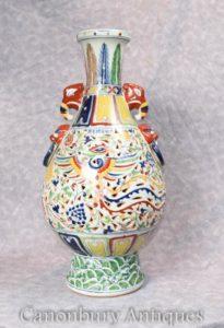 单中国乾隆瓷龙瓮花瓶中国陶瓷