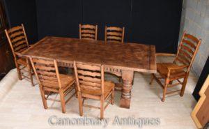 Столовые стулья для столовой столовой Обеденный гарнитур - кухонный гарнитур для сельского хозяйства