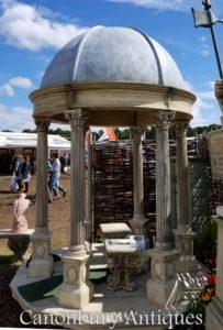 2.4m Каменный сад Храм Беседка с Коническим куполом