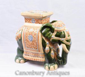 Английский Майолика Керамика Слон Сит Радж