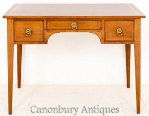 Антикварный Письменный Стол Sheraton Table-Side 1890