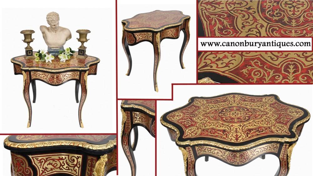 Стол журнальный Boulle Французский стол в форме Людовика XVI